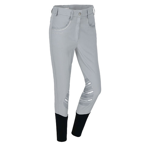HARCOUR SALINAS KNEE GRIP LADIES BREECHES - GREY