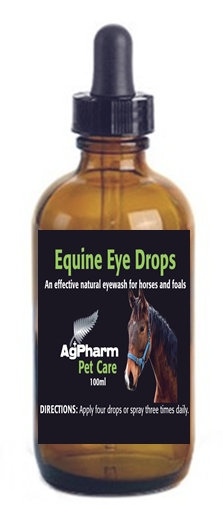 AGPHARM EQUINE EYE DROPS 100ML