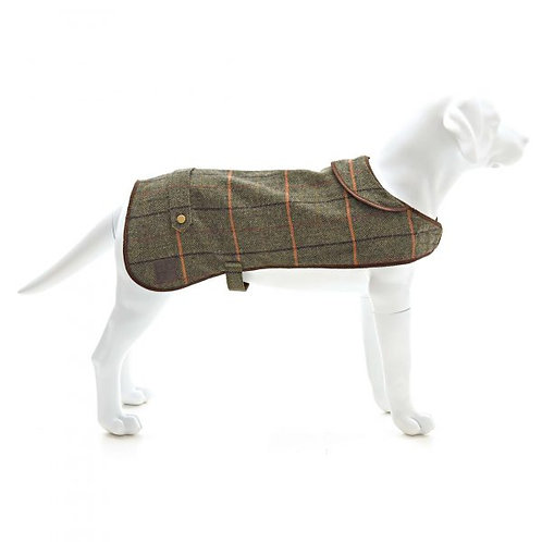 TWEED MILL DOG COAT - XS