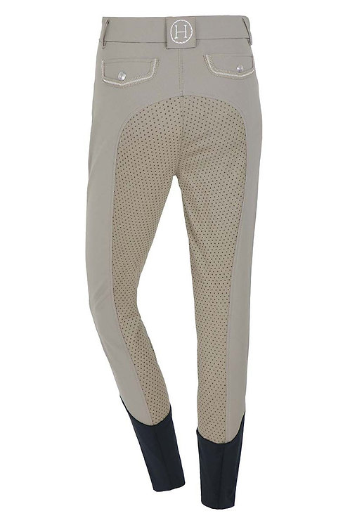 HARCOUR WOMENS UNITA BREECHES WITH FIX SYSTEM GRIP