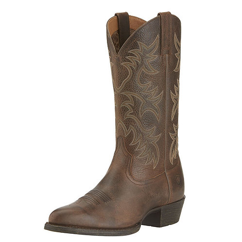 ARIAT MENS HERITAGE WESTERN R TOE BOOTS