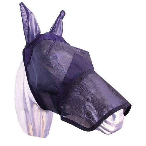 ZILCO FLY MASK WITH NOSE PROTECTION