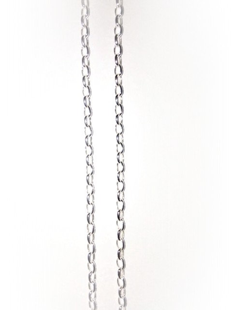50cm STERLING SILVER LIGHT CHAIN