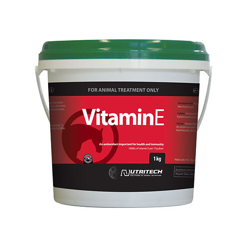 NUTRITECH VITAMIN E SUPPLEMENT