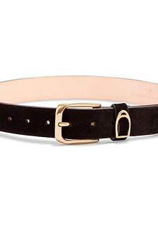 MACKENZIE & GEORGE CHATSWORTH BELT - BLACK