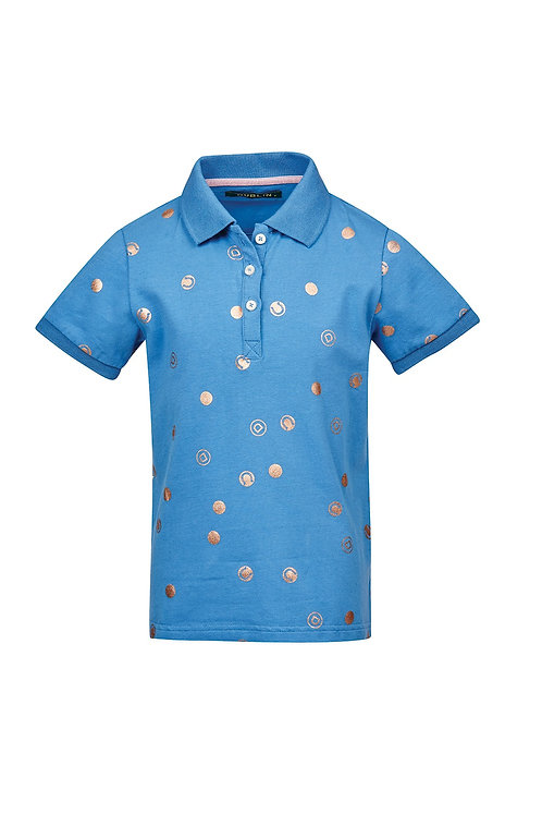 DUBLIN DOLLY ALL OVER PRINTED POLO - CHILDS