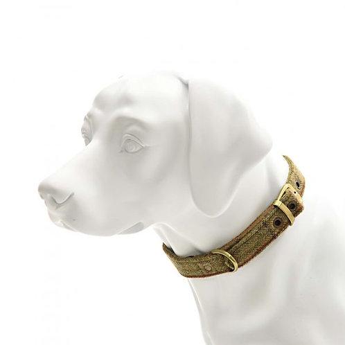 TWEED MILL DOG COLLAR - LARGE