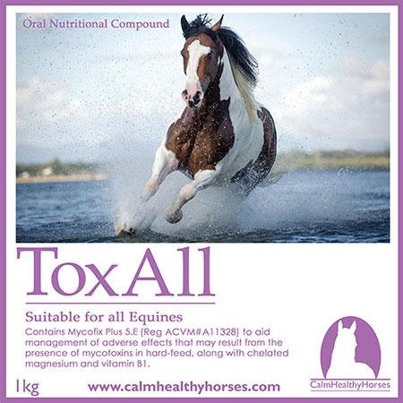 TOXALL - 1KG CALM HEALTHY HORSES