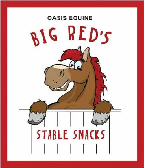 BIG RED'S STABLE SNACKS - 400G