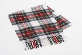 TWEED MILL WOOL TARTAN SCARF-STEWART