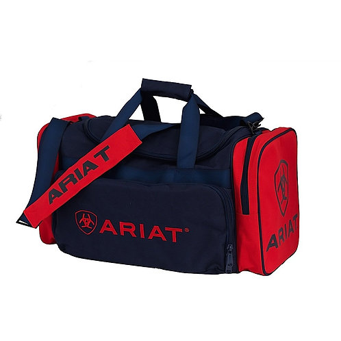 ARIAT GEAR BAG - RED/NAVY