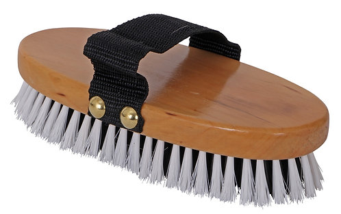 BLUE TAG WOOD BACK BODY BRUSH - MEDIUM