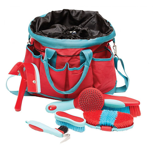 ROMA DELUXE GROOMING BAG - 6 PIECE KIT