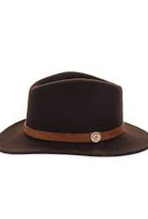MACKENZIE & GEORGE FEDORA - BROWN