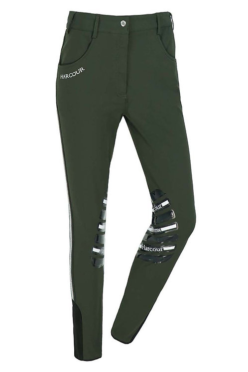 HARCOUR WOMENS AXELLE BREECHES WITH FIX SYSTEM GRIP