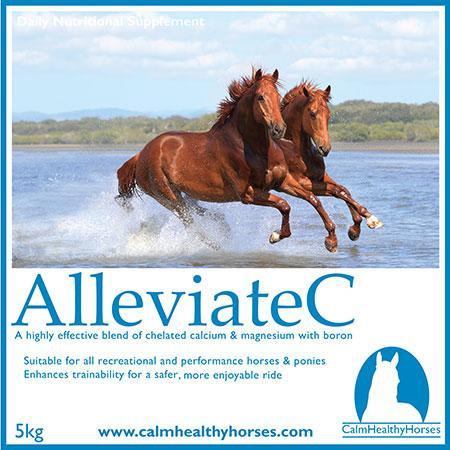 ALLEVIATE C - 800G CALM HEALTHY HORSES