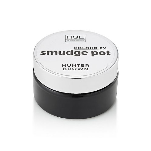 HSE HI-SHINE SMUDGE POT - HUNTER BROWN