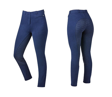 DUBLIN  SUPA-FIT PULL ON GEL FULL SEAT YEAR ROUND JODHPURS - CHILDS