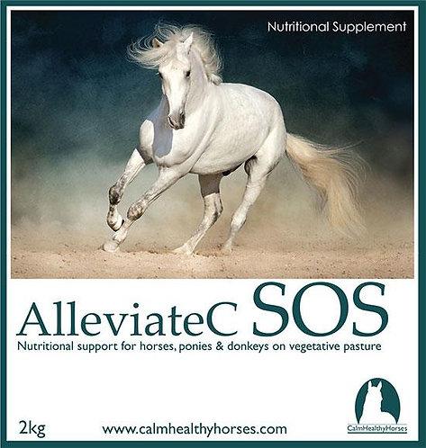 ALLEVIATE C SOS - 2KG CALM HEALTHY HORSES