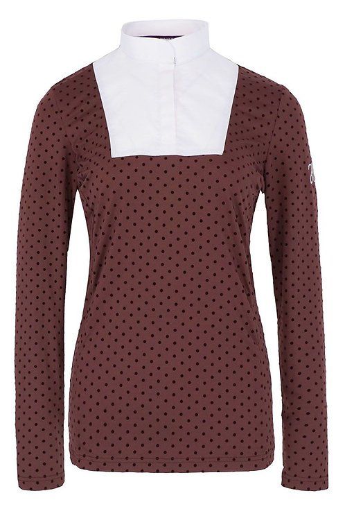 HARCOUR WOMENS ALEXIA LONG SLEEVE COMPETITION SHIRT