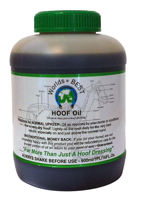 WORLDS BEST HOOF OIL  - 500ML