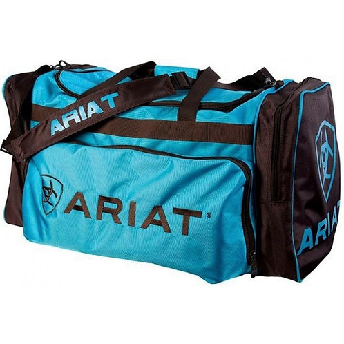 ARIAT GEAR BAG - TURQUOISE/BROWN