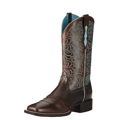 ARIAT WOMENS ROUND UP REMUDA WESTERN BOOTS