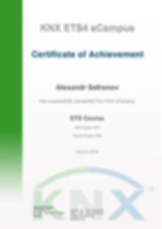 КНХ сертификат - Elman