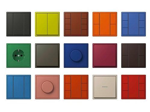 Выключатели Jung серии LS Les CouleursLe Corbusier - Elman