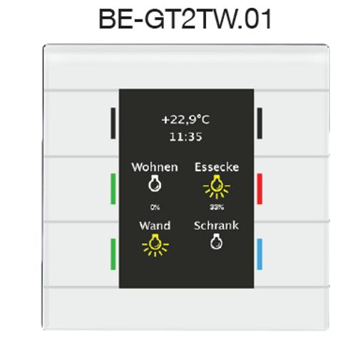 Выключатель BE-GT2TW.01/BE-GT2TS.01 - Elman