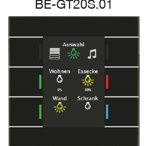 Выключатель BE-GT20W.01/BE-GT20S.01 - Elman