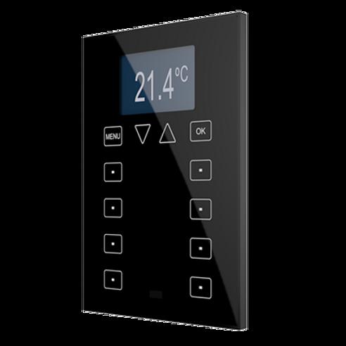 Сенсорный дисплей (алюминий) ZAS-(S/B/W) - Elman