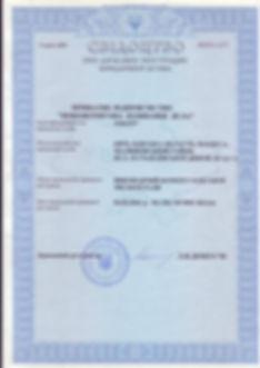 Свидетельство о регистрации - Elman
