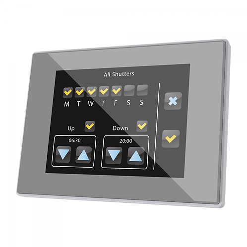 Сенсорная панель InZennio Z41PRO-(A/W/S)P - Elman