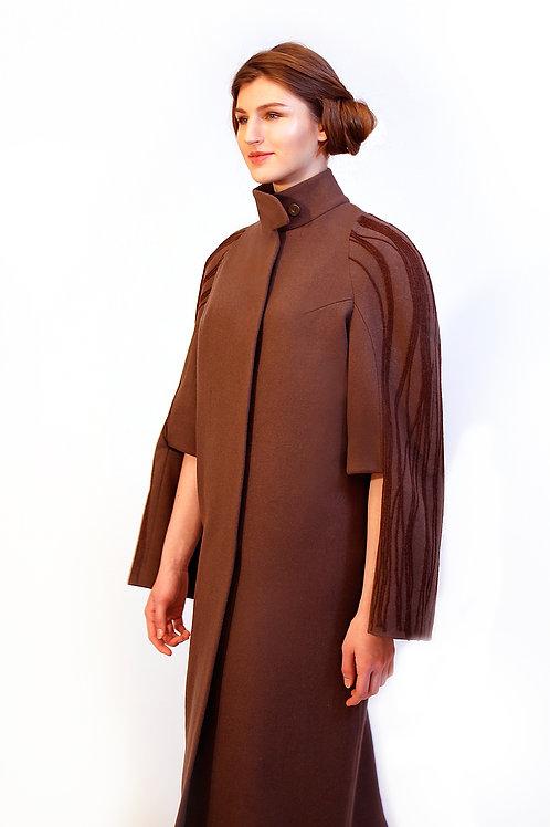 """Пальто. Коллекция """"Vietnam"""". Модель """"Cicada"""""""