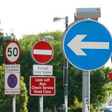 Solar Graphics Car Park & Traffic Signs Essex & London