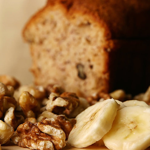Banana Nut Bread All Natural Candle