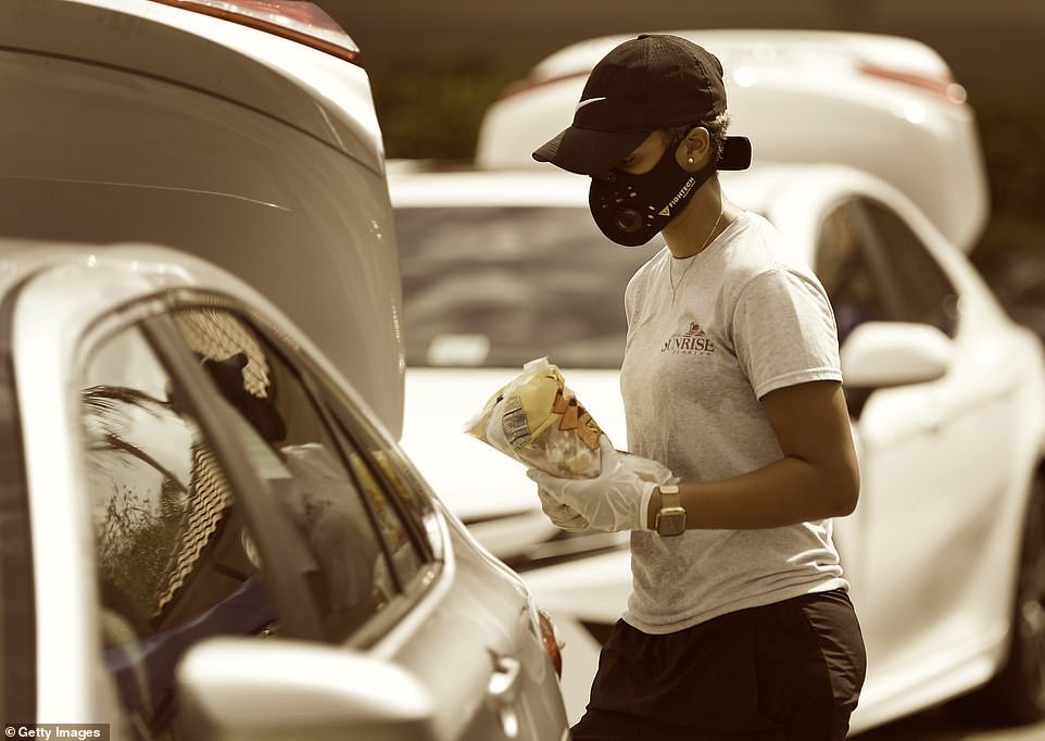Volunteers at the Anderson Valley Food Bank ask patrons to remain in vehicles while items are placed in their trunk. For the health and safety of patrons and volunteers, we ask all to wear face coverings and gloves.