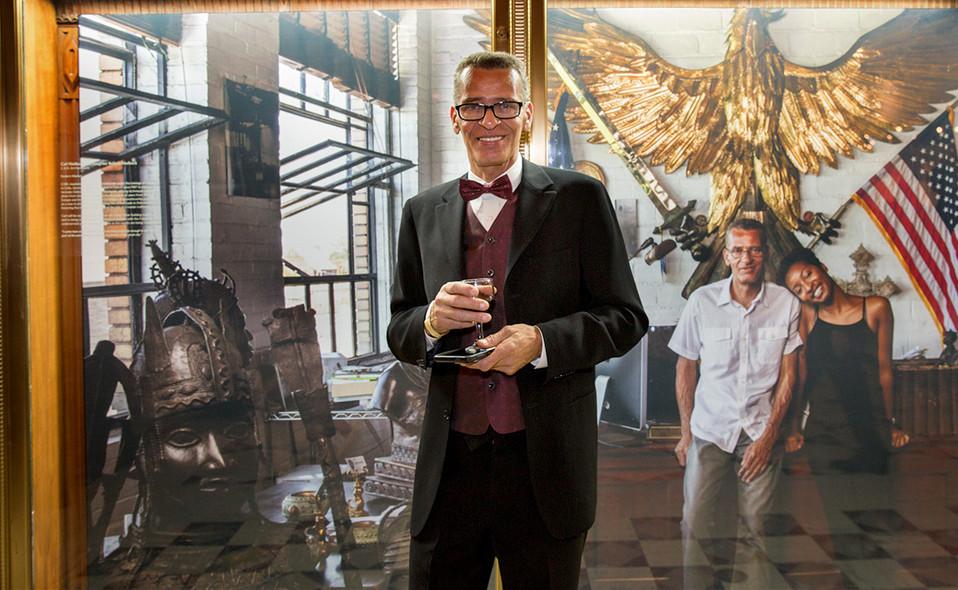 Carlos Nielbock at Fisher Building