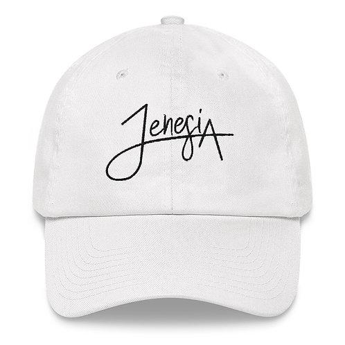 Jenesia Dad hat