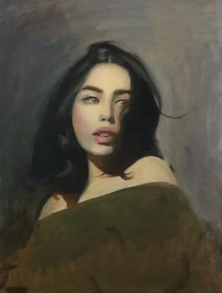 Portrait of Maria Mor