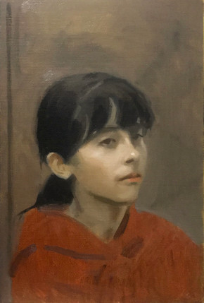 Study of a girl IV