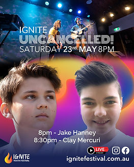 Ignite Uncancelled Jake Poster 23 May 20