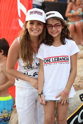 One Lebanon Cap (White)