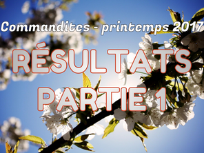 Commandites Partie 1 - Printemps 2017