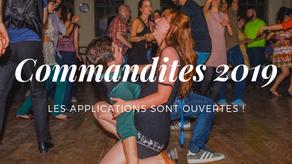 Commandites 2019