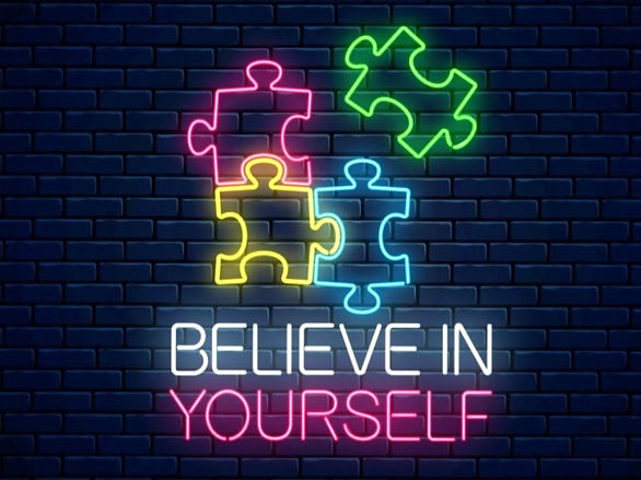 solve_puzzle_believe_in_yourself_neon_si