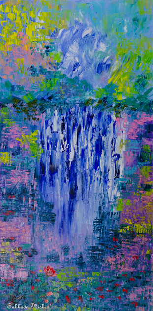 18X36 The Waterfall