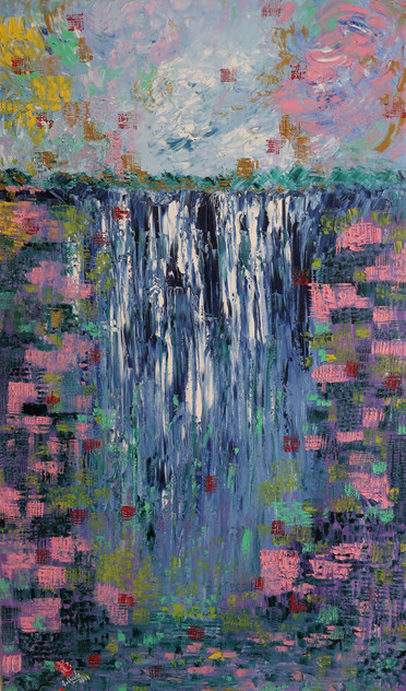 36X60 The Waterfall