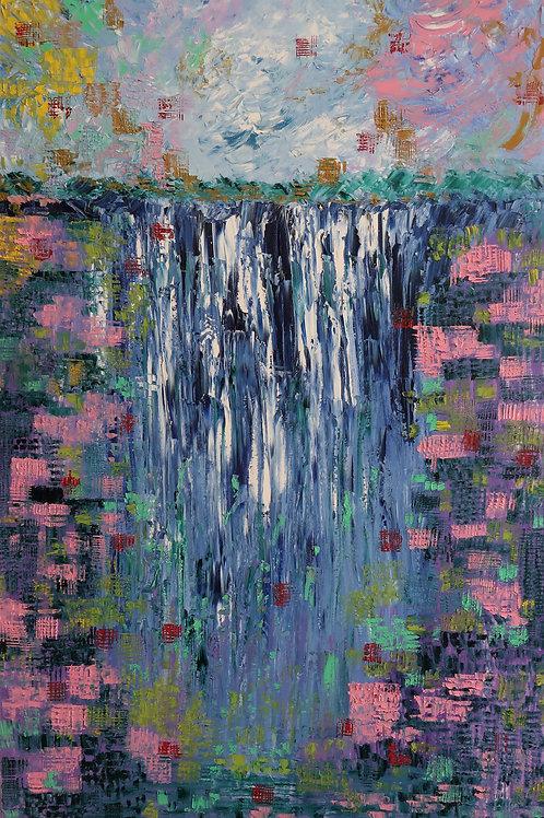 The Waterfall_2 (60''x36''x2'')